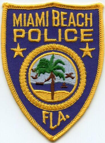MIAMI BEACH FLORIDA FL POLICE PATCH