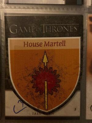 Game of Thrones Season 3 H10 House Martell House Banner Insert Card