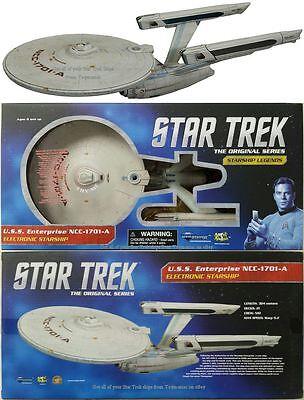 STAR TREK VI DIAMOND SELECT USS ENTERPRISE NCC 1701 A UNDISCOVERED COUNTRY SHIP