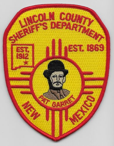 Lincoln County Sheriff State New Mexico NM Colorful
