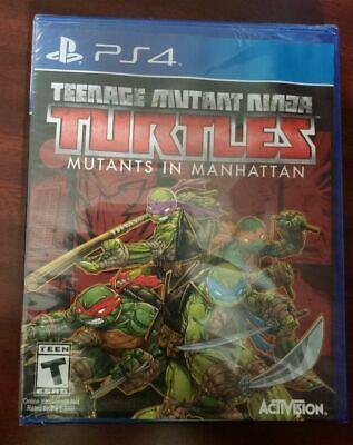 Teenage Mutant Ninja Turtles: Mutants in Manhattan, PS4, 047875771376