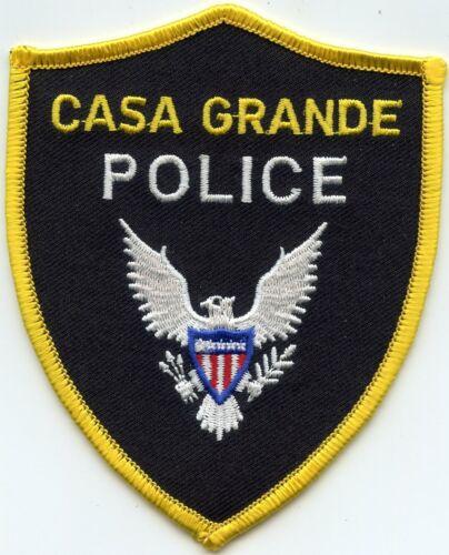 CASA GRANDE ARIZONA AZ POLICE PATCH