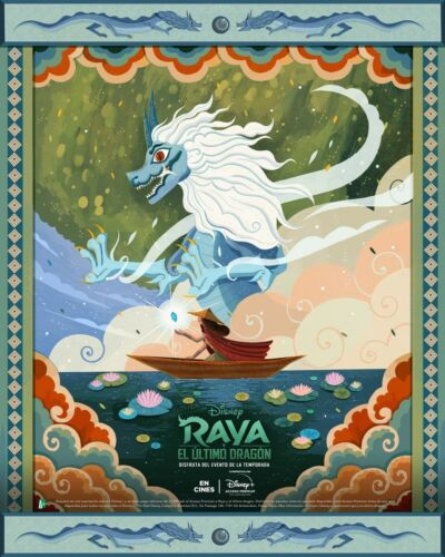 Raya And The Last Dragon Movie Poster 18
