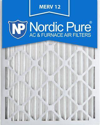 Nordic Pure 20x25x2M12-3 MERV 12 Pleated Air Condition Furna