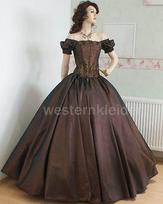 Westernkleid Sissi Biedermeierkleid Südstaatenkleid Civil War Kleid KT246 online kaufen