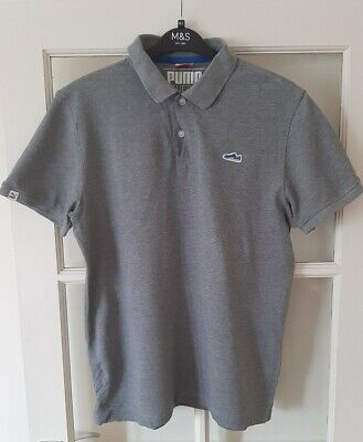 Puma Grey Large Polo Shirt