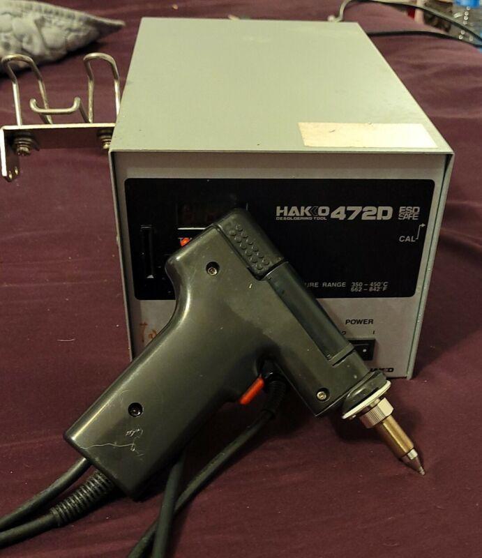 HAKKO 472D Desoldering Tool  WITH 817 HAND TOOL