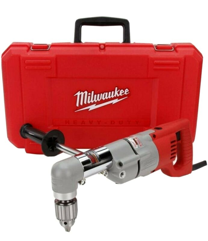 """Milwaukee 3102-6 1/2"""" Right Angle Drill Kit with Hard Case"""