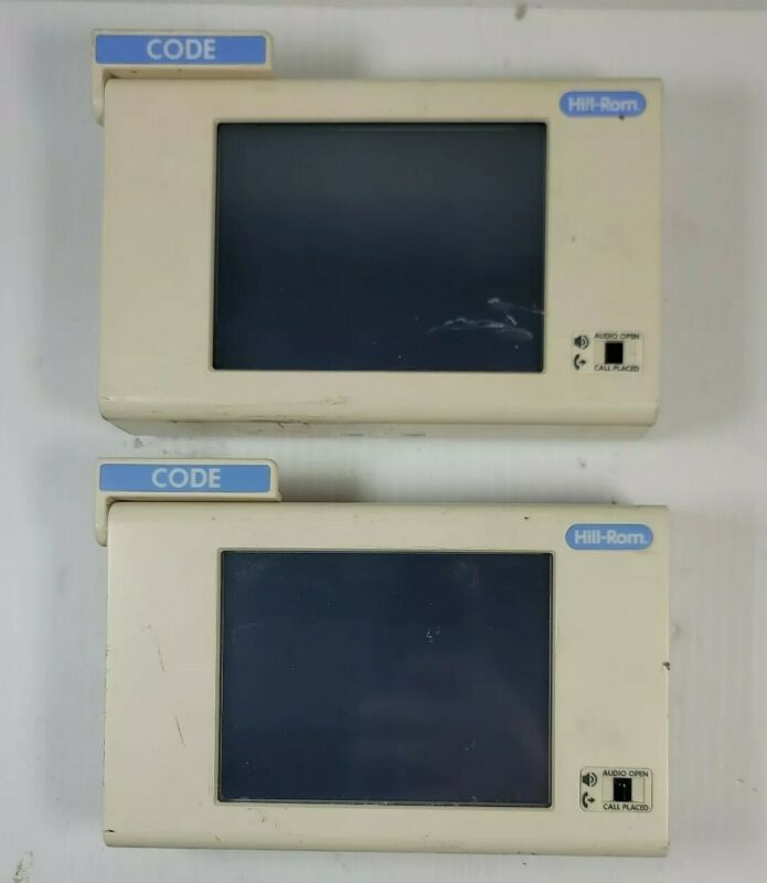 Hill-Rom Graphical Room Station GRS 5 with Code P2594NNC2A11 - AS-IS UNTESTED