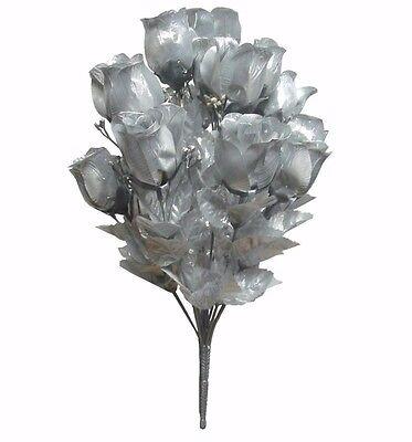 Metallic Silver 14-Rosebud 19