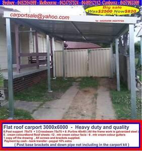 New  carport  3  x  6   $820  or  3 x  9   $  1250 Thomastown Whittlesea Area Preview
