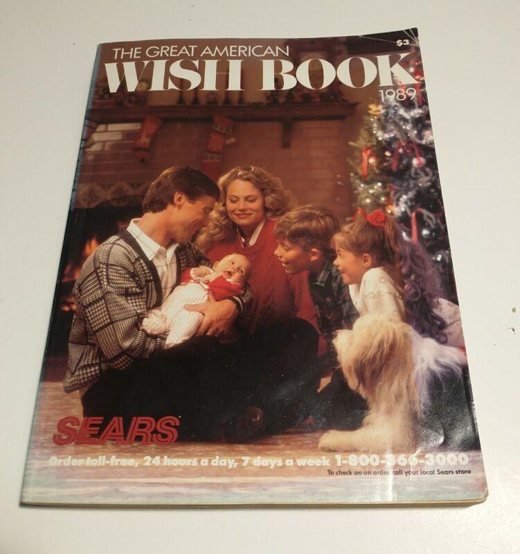 1989 Sears Roebuck Christmas Wish Book Catalog - Nintendo, Sega, NInja Turtles