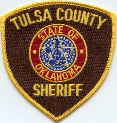 TULSA COUNTY OKLAHOMA OK SHERIFF POLICE PATCH