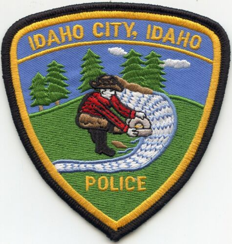 IDAHO CITY IDAHO ID POLICE PATCH