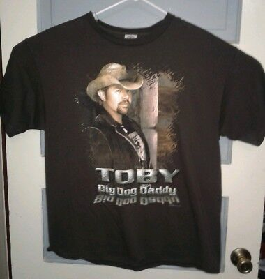 Delta Pro weight Toby Keith xl shirt 100% cotton Big dog daddy tour AA5