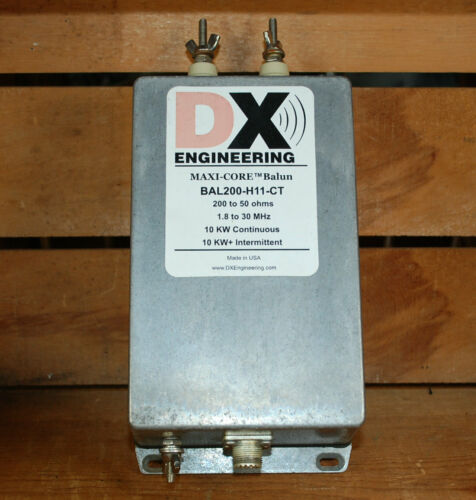 DX Engineering Balun BAL200-H11-CT 4:1 10KW