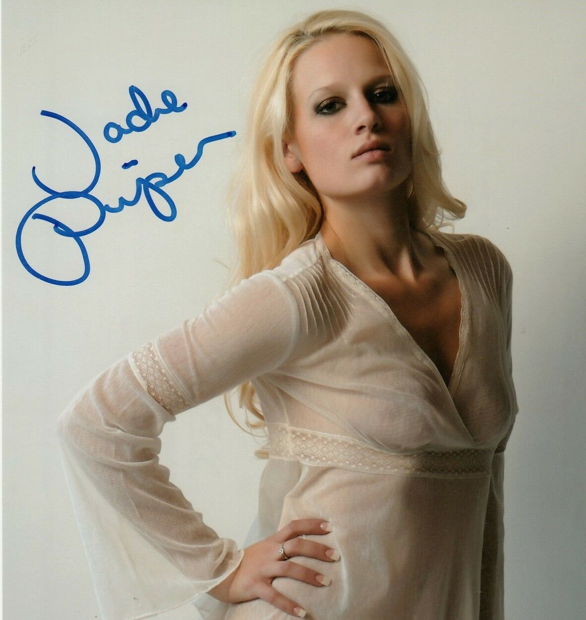 JADE PIPER Hand-signed NO PANTIES HOT SEDUCTIVE Color 8x10 Uacc Rd Coa IN-PERSON - $19.99