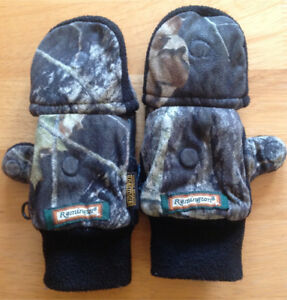 Kids Remington convertible thermal gloves