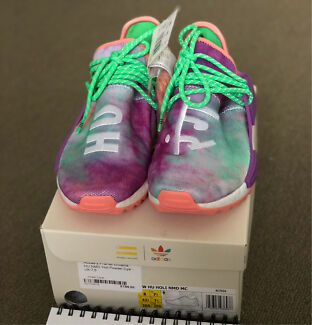 NMD PW HU HOLI Purple Green US 8 DS