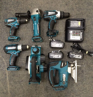 MAKITA 6 PIECE 18V TOOLKIT COMBO Liverpool Liverpool Area Preview