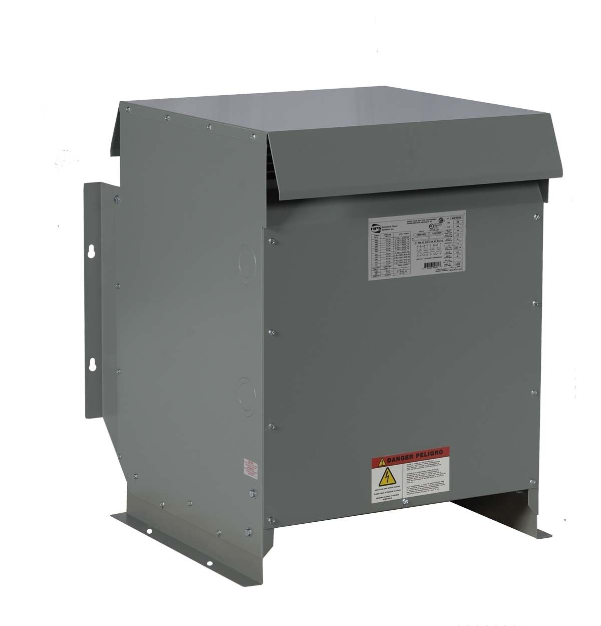 15kva Dry Type Transformer 480 208y 120 Volt Step Down 3 Phase New 3r