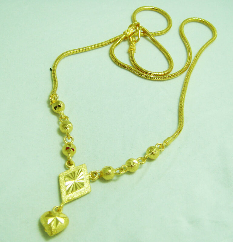 Thai Gold Necklace: Thai Gold: Jewelry & Watches