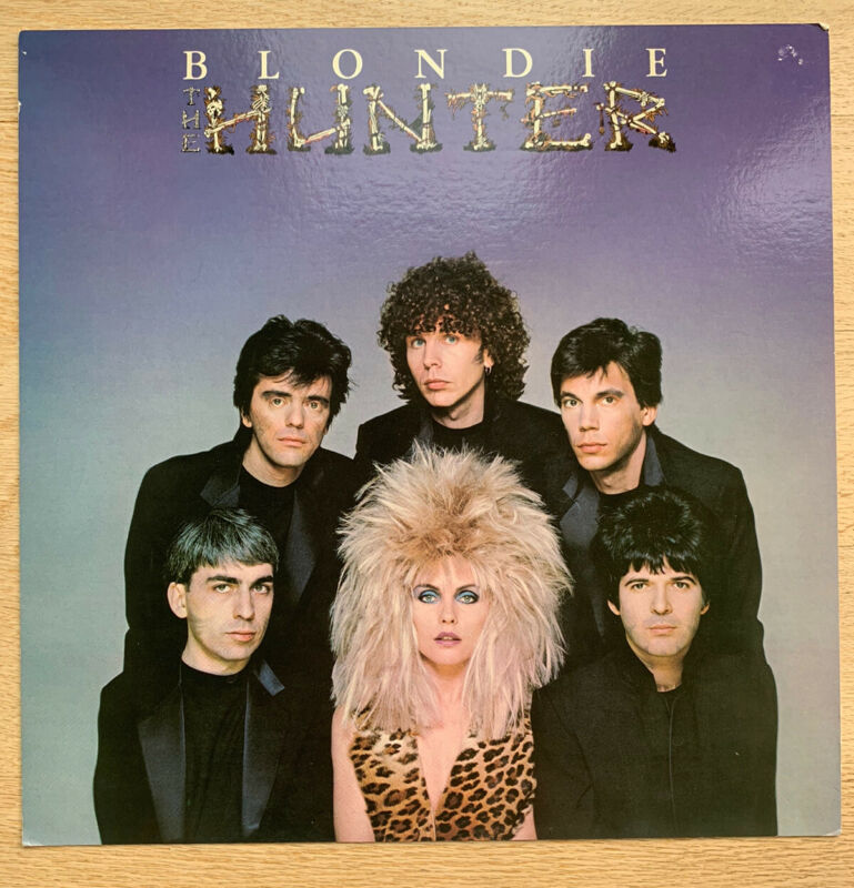 Blondie Hunter Original In Store Promo Poster 12x12 Debbie Harry