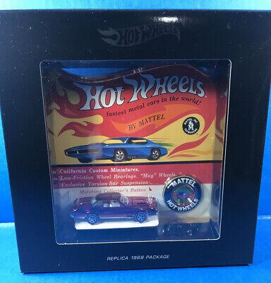 Hot Wheels CUSTOM EL DORADO from RLC / HWC with Button from Original 16 Replica