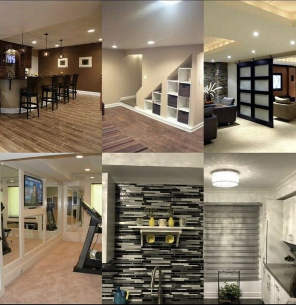 Home renovation, Basement finishing, General contractor ...