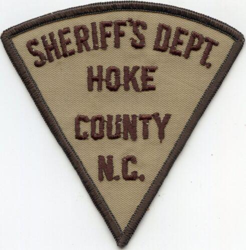 HOKE COUNTY NORTH CAROLINA NC SHERIFF POLICE PATCH