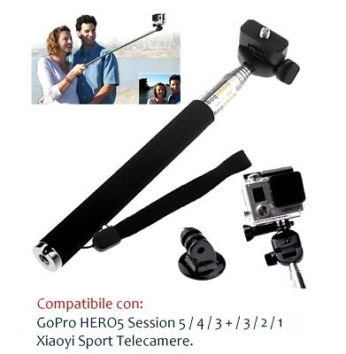 Bastone Selfie GoPro HERO 5 4 3 Session Asta Telescopica Palo Estensione Camera