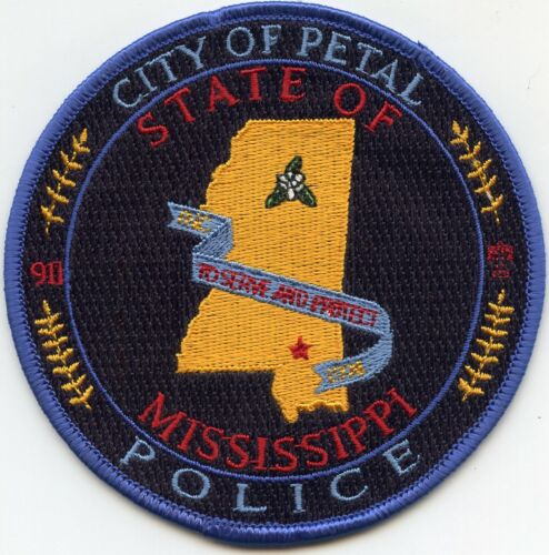PETAL MISSISSIPPI MS POLICE PATCH