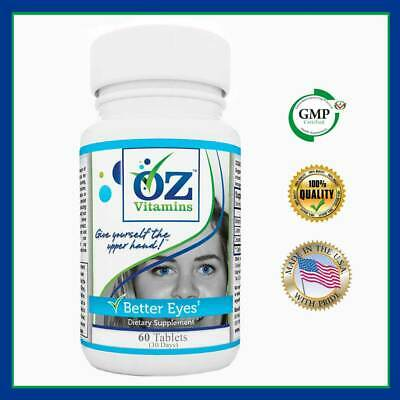Oz Vitamins Better Eyes - Bilberry Lutein Zeaxanthin Natural Vision