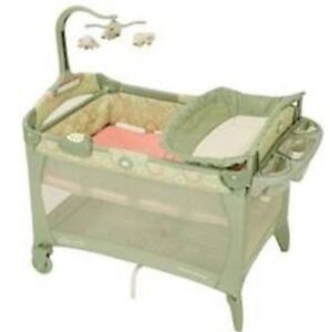 Crib playpen by Graco