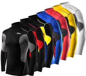 Mens-Boys-TCA-SuperThermal-Compression-Armour-Base-Layer-Top-Under-Shirt-Skins