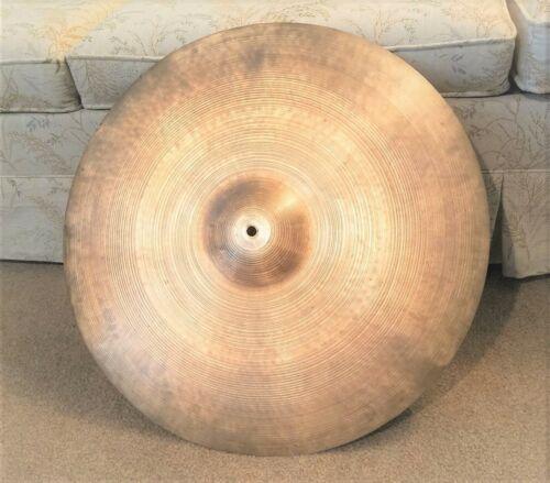 """Vintage 22"""" AVEDIS Zildjian Ride Cymbal * 1963 Genuine Turkish * 86 oz ~ U.S.A.!"""