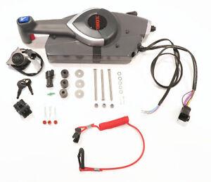 remote control side mount for omc johnson evinrude 5006180, outboard  control box