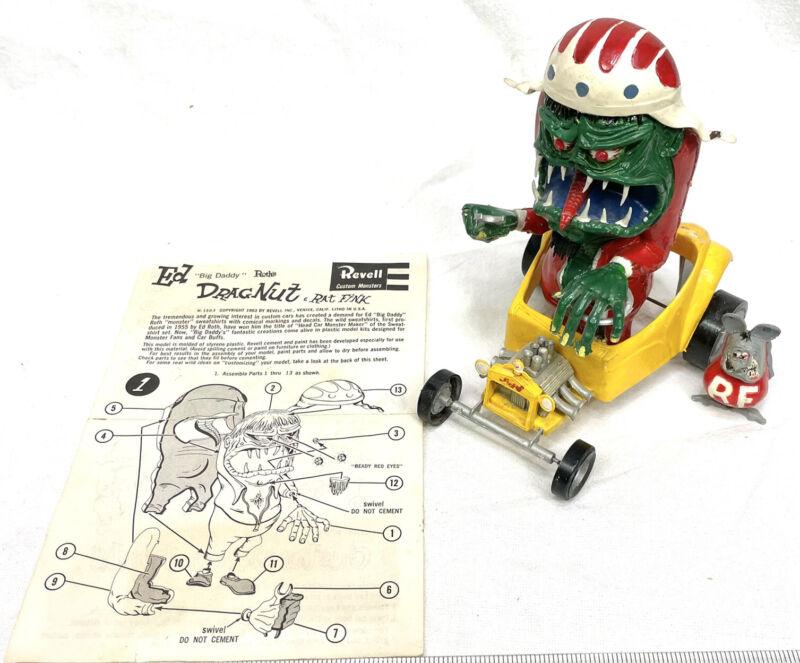 Revell Ed Big Daddy Roth Rat Fink Drag Nut Original 1960s Model Kit Built