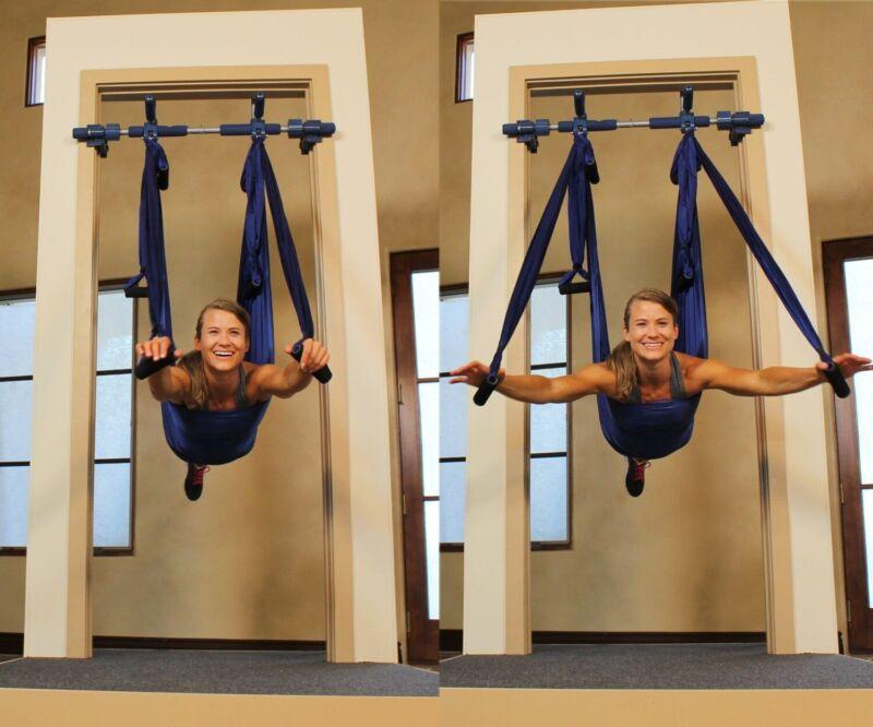 Gym1 Gorilla Gym Aerial Yoga Doorway Aerial Yoga Kit - See Pics For Door Specs