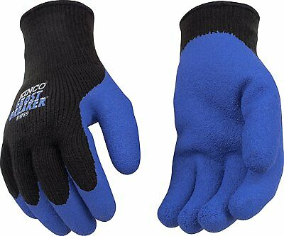 Kinco 1789 Frost Breaker Mens Work Gloves Latex Palm Warm Thermal Knit Winter
