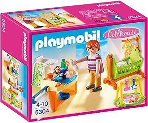 PLAYMOBIL Babyzimmer mit Wiege Mini Figure Spielzeug Figuren Geschenke Kinderspi
