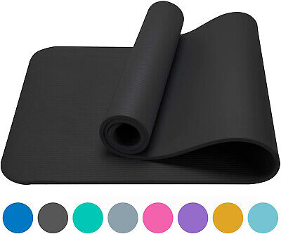 Thick Yoga Mat Gym Camping Non-Slip Fitness Exercise Pilates