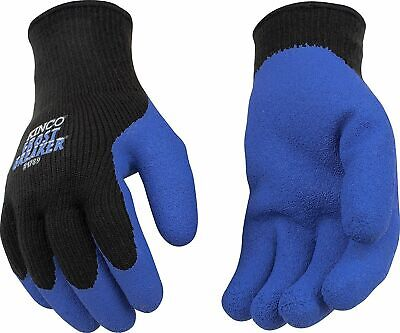 Kinco Mens Work Gloves Frost Breaker Latex Palm Warm Thermal Knit Winter New