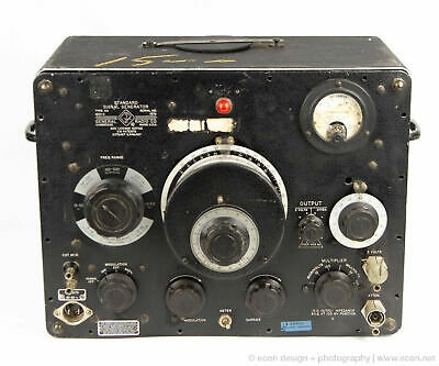 Gr General Radio 1001-a Standard Signal Generator Vintage Lab Testing Equipment