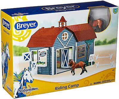BREYER STABLEMATE 2019 STABLEMATES RIDING CAMP -NEW, STABLEMATE MARE STALL, BARN