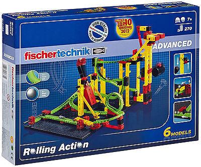 Fischertechnik Rolling Action Kugelbahn - NEU Fischer Technik Baukasten 516183