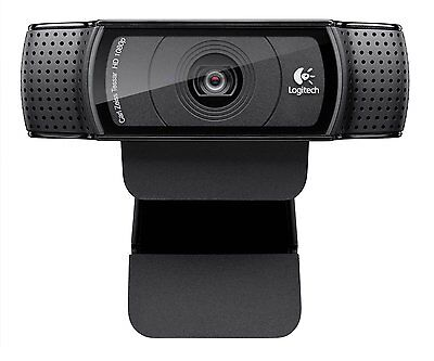 Logitech HD Pro Webcam C920, 1080p Widescreen Video Calling and Recording for PC on Rummage
