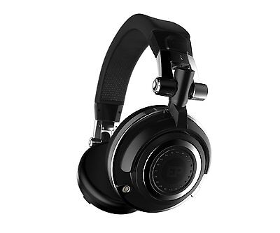 iFrogz Headphones EarPollution Mogul Foldable Pro DJ Style 50mm Driver Black NEW