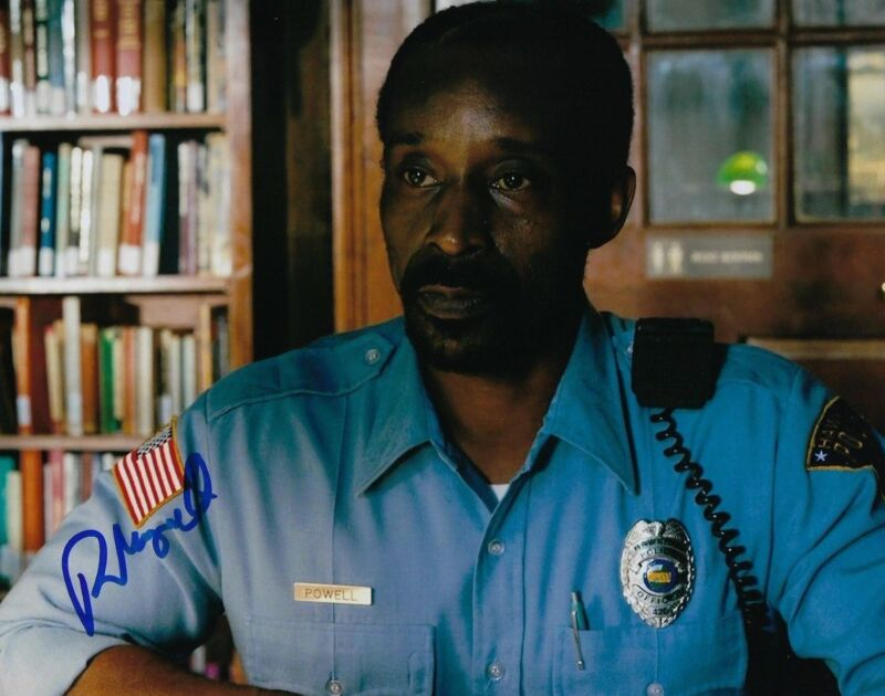 GFA Stranger Things Officer * ROB MORGAN * Signed Autograph 8x10 Photo R4 COA