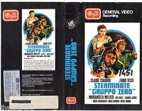 Sterminate Gruppo Zero (1973) Vhs Gvr Video 1a Ed. Fabio Testi -  - ebay.it